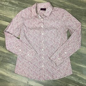 J. Crew Liberty Art Fabrics Floral Button Up